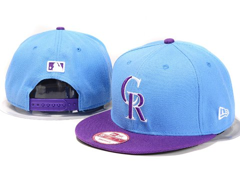 Colorado Rockies MLB Snapback Hat YX104